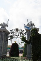 Monster's University floral display
