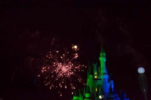 Happy HalloWishes fireworks display