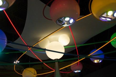 Mickey's Star Traders light fixture
