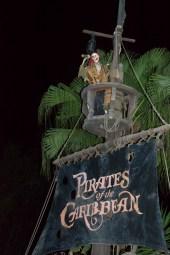 Pirates of the Caribbean mast