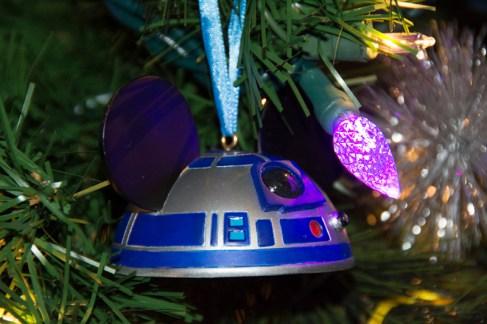 R2-D2 Mickey head ornament