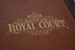 Royal Court menu