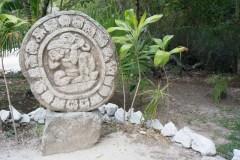 Faux Mayan Village