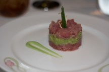 Ahi Tuna and Avocado Tower