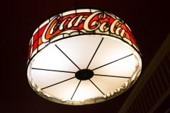 Coca Cola Chandelier