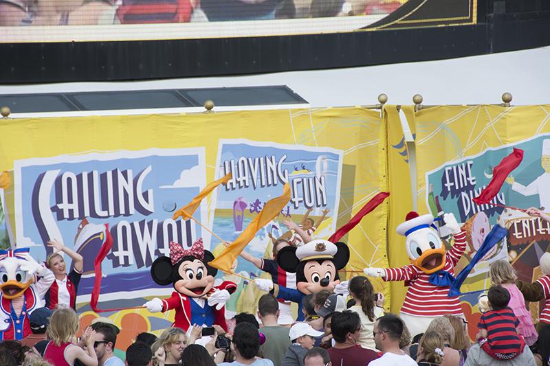 Disney Cruise 2015 Day 1 (3/6)