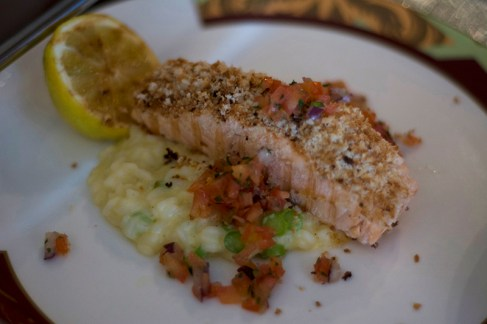 Encrusted Salmon