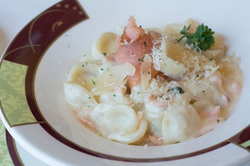Orecchiette with Smoked Salmon
