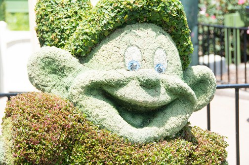 Dopey topiary