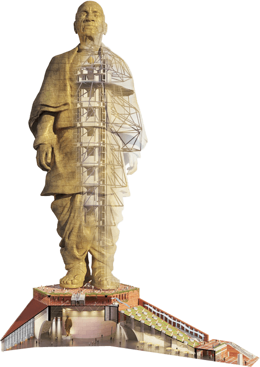 Sardar Vallabhbhai biggest statue in india