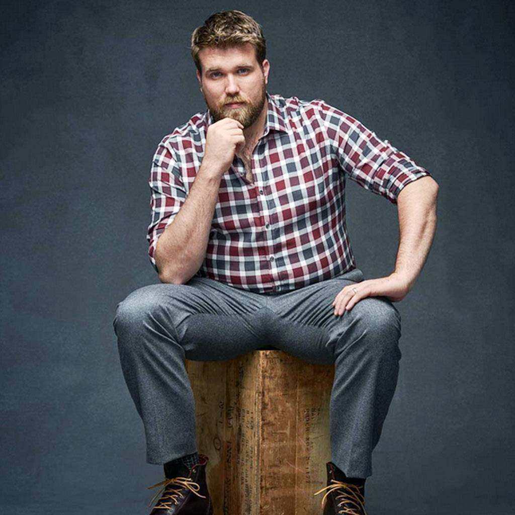 World S First Plus Size Male Model Zach Miko S Incredible