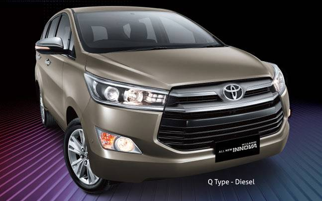 all new kijang innova q diesel bumper depan grand veloz 2016 toyota launched at guangzhou auto show india launch