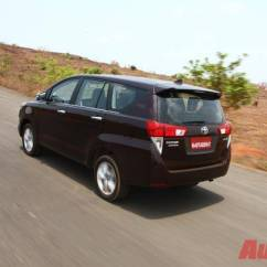 Review Grand New Kijang Innova Diesel Ukuran Avanza Toyota Crysta Launched In Mumbai Prices Start At Rs 13 84