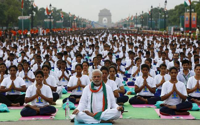 Science in Yoga-International Yoga Day With India Prime Minister Modi