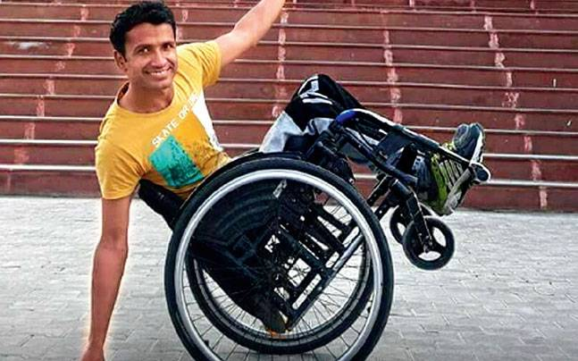 wheelchair man chair design description this bound performs acrobatics paints and swims imran is a painter swimmer netball player performer