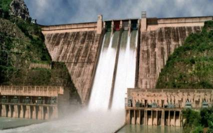 Image result for Bhakra Nangal Hydro Electric Power plant
