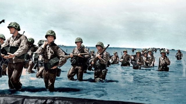 World War II In Colour has a British viewpoint and that's it ...
