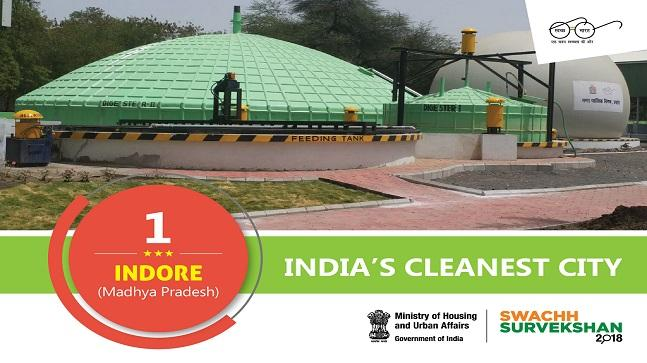 Indore inspires a Swachh Bharat by topping cleanliness
