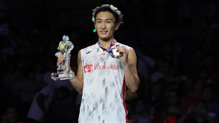 Kento Momota Becomes Japan S First Men S Singles World No
