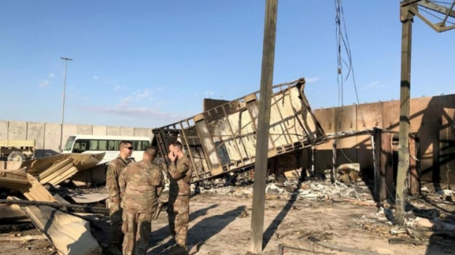 US troops describe 'miraculous' escape at Iraqi base attacked by Iran