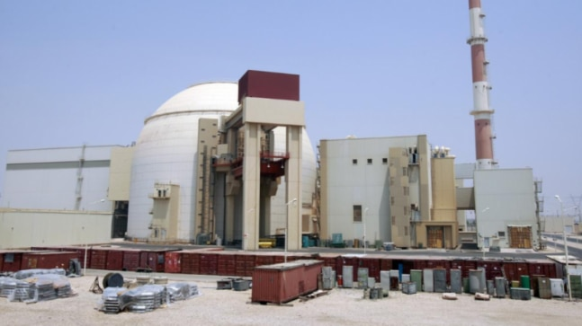 Earthquake near Iran nuclear power plant, reports say natural event