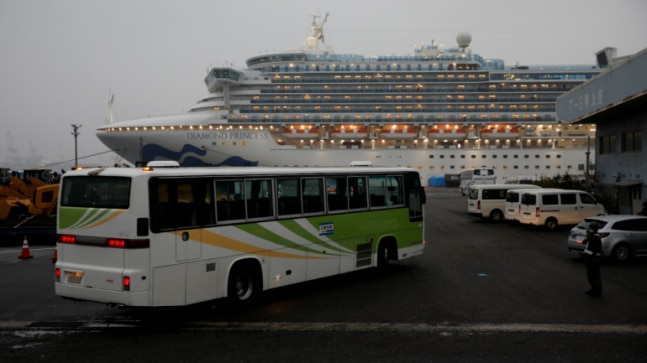 Americans to fly home from coronavirus-hit cruise; China says new cases slow