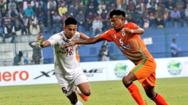 Mohun Bagan swept the 3 points for 5th straight time.(@ILeagueOfficial Photo)