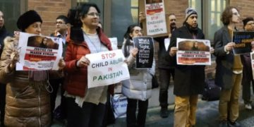 Justice for Mehak Kumari: Protest outside UN office over Hindu girl's conversion in Pakistan