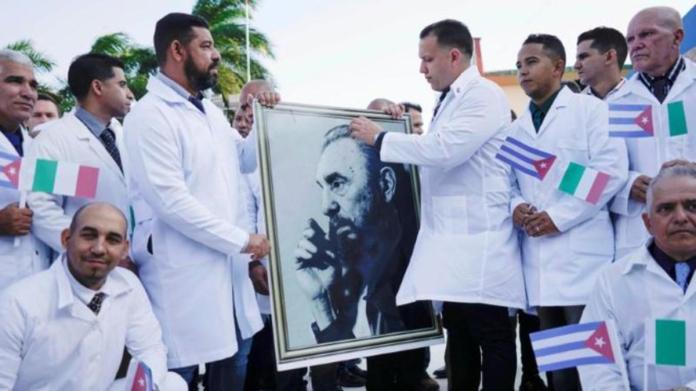 Watch: Cuban doctors arrive in Italy to fight coronavirus, get a ...