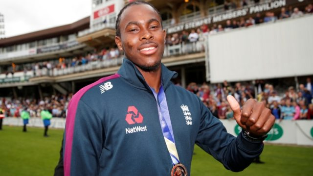Jofra Archer won the 2019 World Cup with England (Reuters Photo)