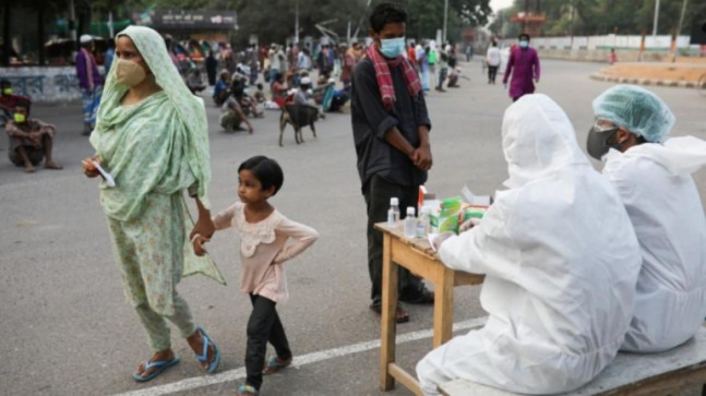 Bangladesh government puts 5,000 Rohingya under lockdown after 4 refugees test positive for Covid-19