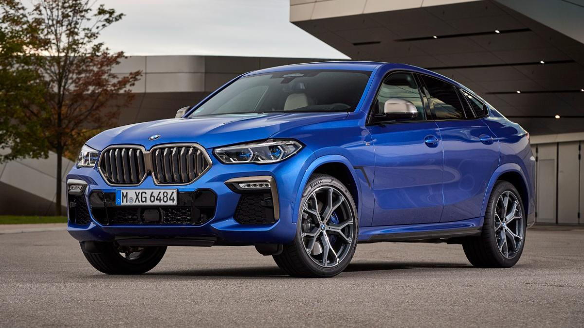 2020 BMW X6 launched in India, starting price is Rs 95 lakh - Auto News