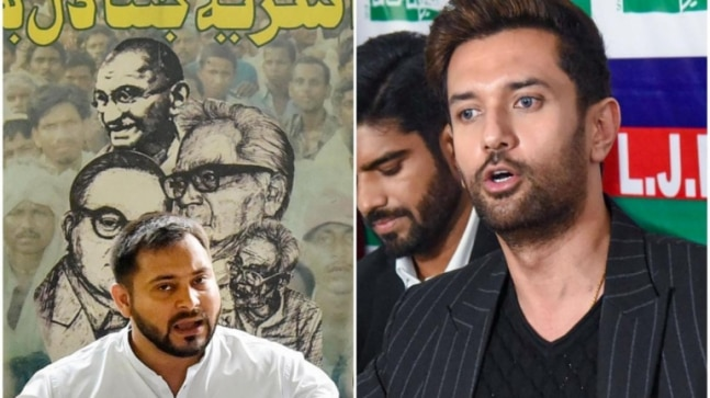 Tejashwi Yadav, Chirag Paswan raise concerns over ECI's decision to hold Bihar polls amid pandemic