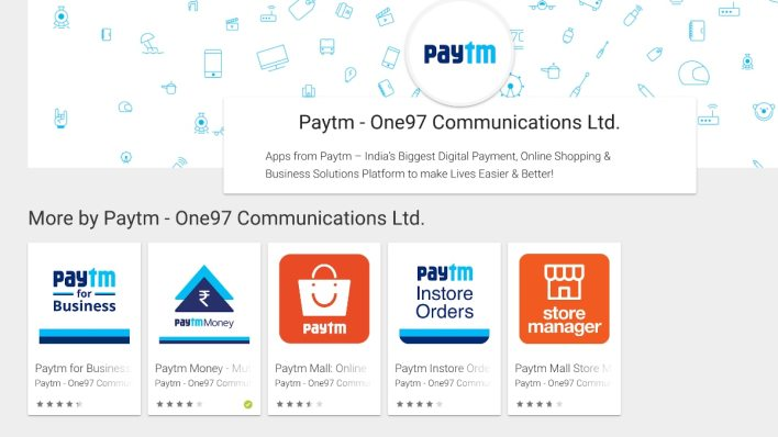 paytm app removed from google play store for hours, now back - technology news