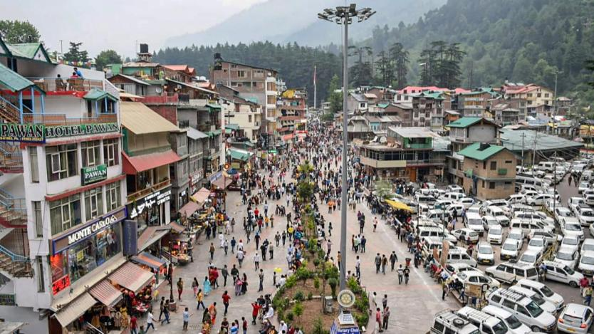 Centre writes to Himachal over tourists flouting Covid rules in Shimla,  Manali - Coronavirus Outbreak News