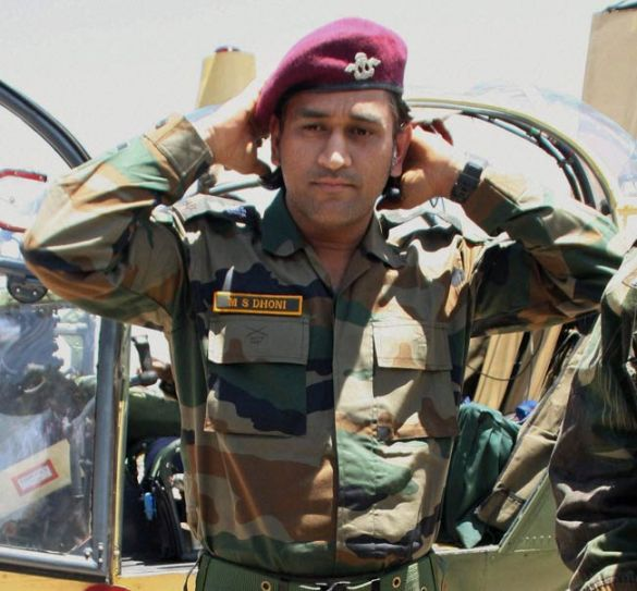 Dhoni Keen On Serving Indian Army IndiaToday