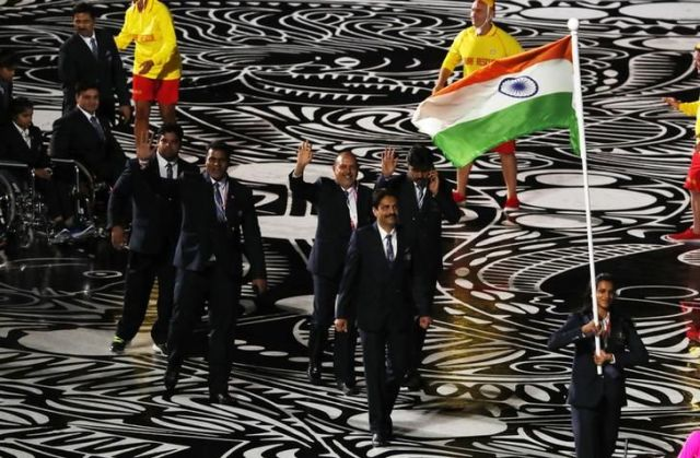 Snapshots from Gold Coast: PV Sindhu leads India's march at CWG 2018 opening ceremony
