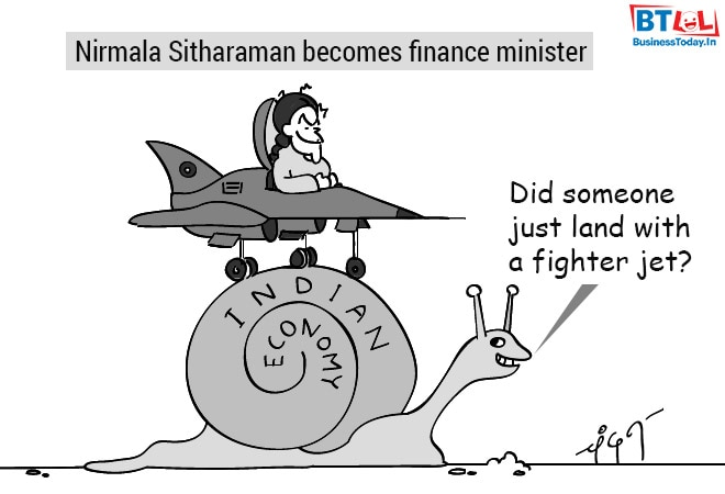Cartoon of the Day: Nirmala Sitharaman is new FM and other jokes ...