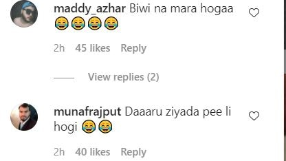 Another comment on this photo of Kapil.