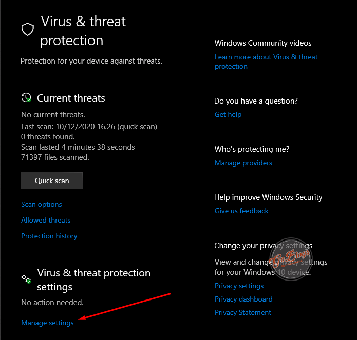 Cara Mematikan Antivirus Windows 10 akm.web.id