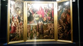 Memling, The last Judgement. Something that can impress you from the first sight and will make remember for long.