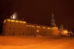 Beautiful Kremlin at night