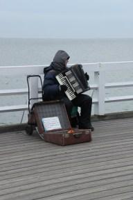 Can you here? Wind, seagulls, accordion