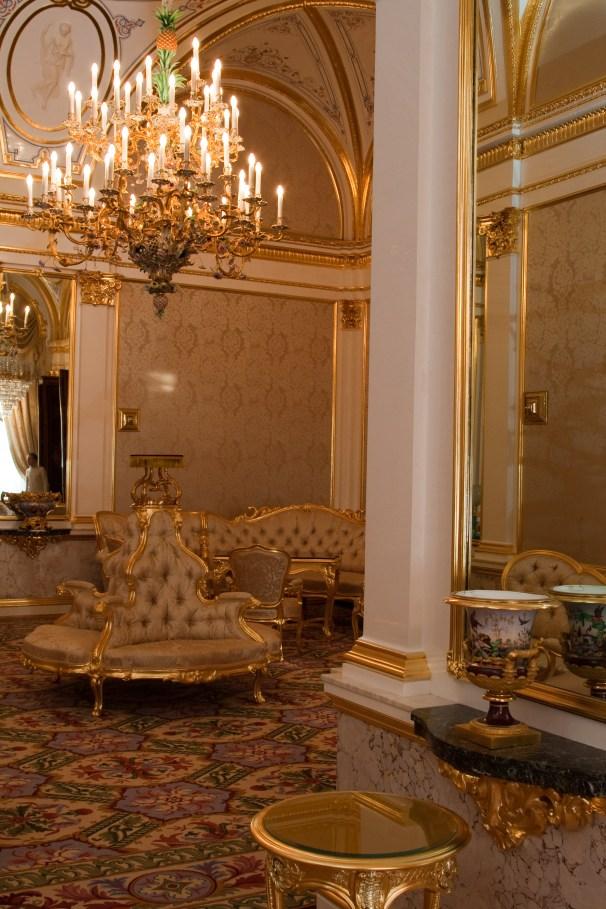 Private rooms of the last Emperor of the Russian Empire Nicholas II