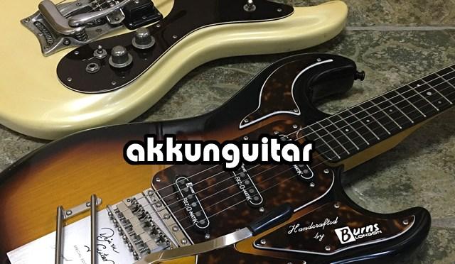 BURNS DEJA VU、モズライトみたいに弾き易くなりました♪ ~Mosrite とバーンズのギター