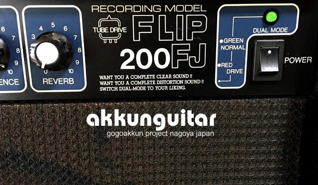 プリ真空管ギターアンプ、最近調子が悪くなってきて。。。 チューブアンプ FLIP200FJ