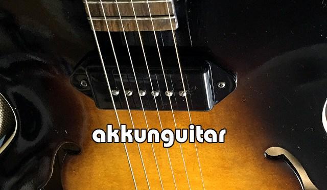 今年もフルアコ、結構出番が多かったですね~♪ ~ブルースギター ES