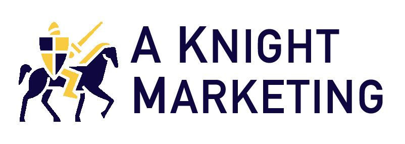 aknightmarketing logo idea 1