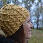 Merrick: Cabled hat pattern