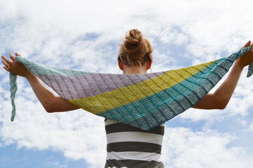 Assymetrical Shawls One and Two 2016-07-22 020